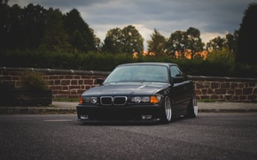 Picture Road, BMW, BMW, oldschool, 3 series, E36, Stance