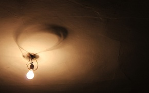 Picture background, lamp, the ceiling