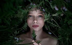 Picture freckles, Kate, the beauty, George Chernyadev, Catherine Jasnogorodska