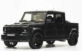 Picture truck, pickup, brabus-g500