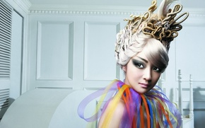 Picture girl, style, hairstyle, Asian, fashion