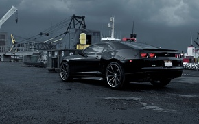 Picture Chevrolet, Camaro, black