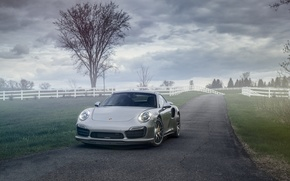 Picture 911, Porsche, Turbo, 991