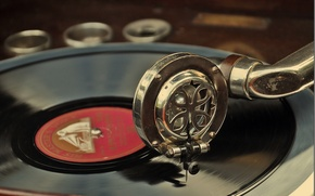 Picture music, record, the gramophone