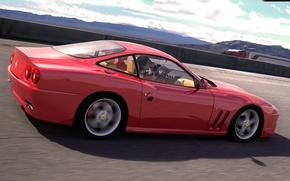 Picture coupe, art, Ferrari, Maranello, dangeruss, two-seater sports car
