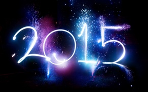 Picture salute, New Year, New Year, Happy, 2015
