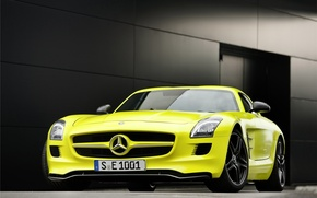 Wallpaper Mercedes, Benz, AMG, SLS