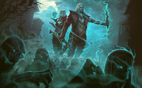 Picture Diablo III, Game, Blizzard Entertainment, Necromancer