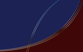 Picture line, blue, color, arc, Bordeaux