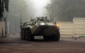Picture fog, technique, BTR80