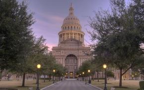 Picture city, the city, USA, Austin, Texas