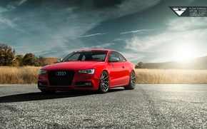 Picture Audi, Red, Vorsteiner, Tuning, Audi S5, 2015, Audi Cars, Audi Tuning, 2015 Vorsteiner Audi S5 …