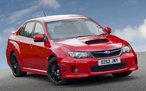 Picture England, Red, Subaru, Impreza, Japan, Sedan, WRX, Car, Auto, Subaru, Impreza, Wallpapers, STi, The English …