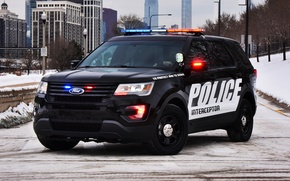 Picture Ford, police, Ford, Police, Interceptor, 2015, U502