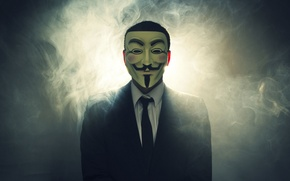 Picture Suit, Mask, Anon