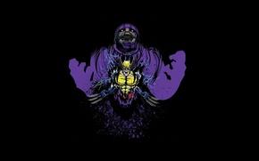 Picture background, battle, Wolverine, Marvel Comics, Sentinel, The guardian