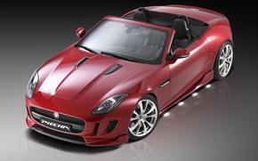 Picture Roadster, Jaguar, Red, Design, F-Type, Piecha