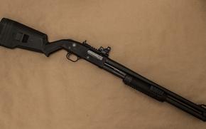 Wallpaper pump, the gun, weapons, background