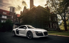 Picture audi, house, v10, R8