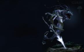 Wallpaper mermaid, warrior, the guardian, SKAT, underwater world
