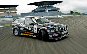Wallpaper track, cars, race, drift