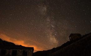 Picture stars, night, space, the milky way