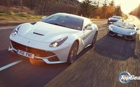 Picture Roadster, Lamborghini, Top Gear, Aston, Martin, Ferrari, V12, LP700-4, Aventador, Supercars, Top Gear, Berlinetta, F12, …