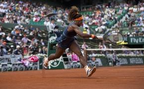 Picture USA, Blow, Tennis, Williams, Tennis, Roland Garros, kick. Serena, Roland Garros, VTA, Serena Williams, WTA, …