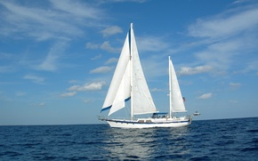 Picture sea, photo, ship, sailboat, yacht