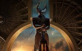 Picture Hero, rainbow bridge, Idris Elba, God, Thor The Dark World, Thor The Dark World, Тор2, …
