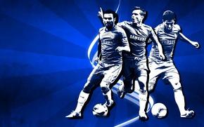 Wallpaper Blues, Frank Lampard, Chelsea FC, FC Chelsea, Juan Mata, Eden Hazard