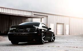 Picture black, Mustang, hangar, Cobra, shelby, Ford, ford mustang