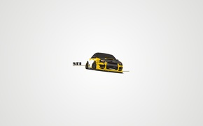 Picture vector, Subaru, STI, japan, style, tuning, art, slip