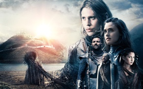 Wallpaper landscape, collage, fantasy, poster, characters, TV Series, The Shannara Chronicles, The Chronicles Of Shannara