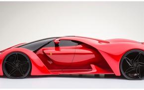 Picture concept, Ferrari, F80