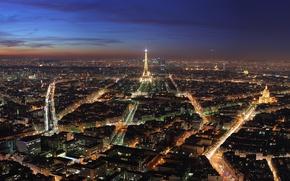 Wallpaper Paris, tower, city