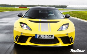 Picture Lotus, top gear, top gear, the Stig, the stig, Lotus Evora GTE