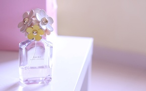 Picture perfume, bottle, daisy, perfume, marc jacobs