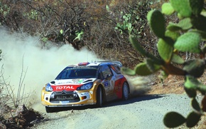 Picture Mexico, DS3, WRC, Rally, Mads Ostberg