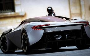 Picture Aston Martin, supercar, sports car