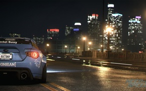 Picture Subaru, nfs, BRZ, Rocket, NSF, Bunny, Need for Speed 2015, this autumn, new era
