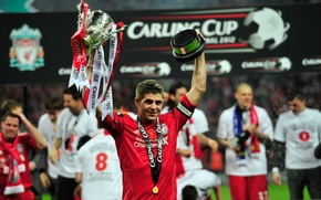 Picture Liverpool, football Wallpaper 2012, Steven-Gerrard-Liverpool