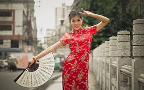 Picture girl, style, street