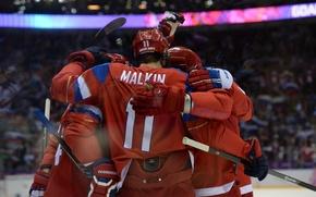 Picture Sport, Russia, Russia, Sport, Hockey, Malkin, The XXII Olympic winter games, 2014 winter Olympics, 2014 …