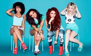 Picture Little Mix, Leigh-Anne Pinnock, British girl group, Perrie Louise Edwards, Jade Amelia Thirlwall, Jessica Louise …