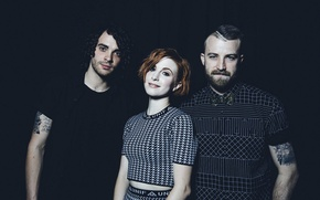 Picture look, style, group, tattoo, photographer, rock, Hayley Williams, Paramore, Hayley Williams, Taylor York, iHeart Radio ...