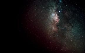 Picture space, stars, black, dark, galaxy