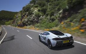 Picture road, car, auto, McLaren, speed, road, speed, 570GT
