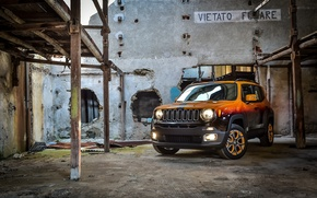 Wallpaper Garage Italia Customs, Montreux Jazz Festival Showcar, jeep, 2015, renegade, Jeep, Renegade