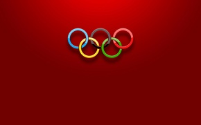 Wallpaper sport, color, ring, Olympics, the volume